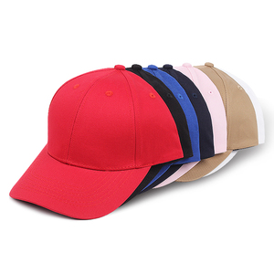 034957f000fa1 promotional 100% cotton 6 panels customized man hat cap baseball hats