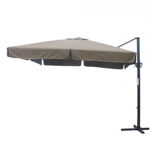 High class outdoor parasol cantilever umbrella