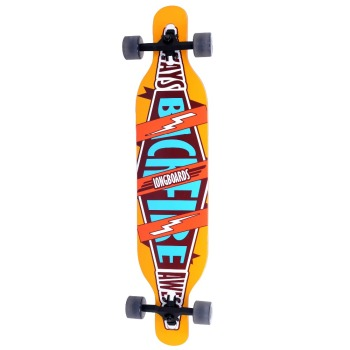 Backfire 2015 Newest new 7 ply canadian maple wood Long Cruiser Longboard longboard set