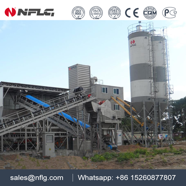 Top brand of china concrete batching plant ready mix with large capacity