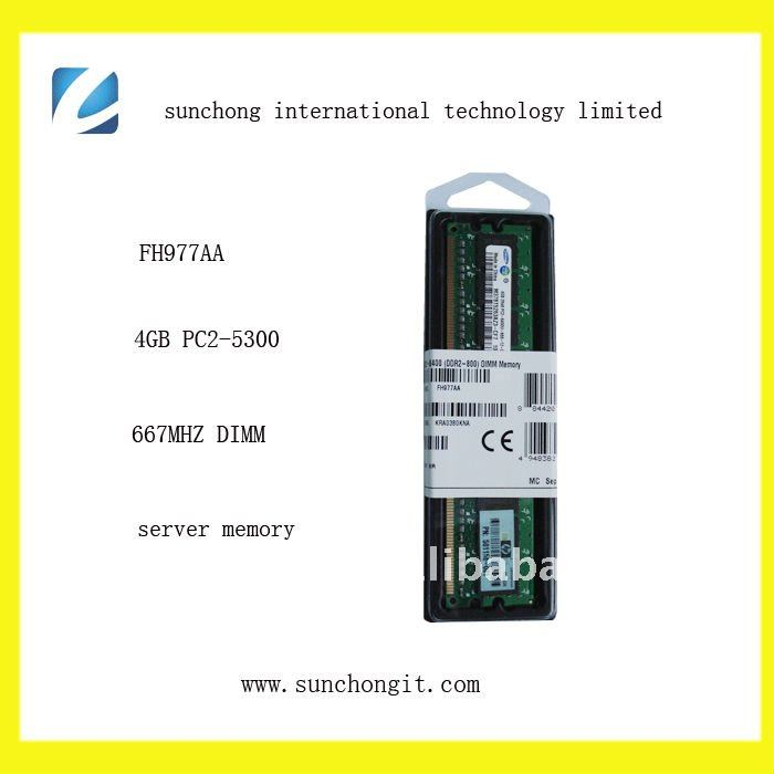FH977AA sound 4gb ddr2 tested desktop ram memory