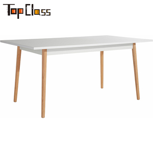 Home furniture cheap Multi use MDF dining table set