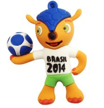 lovely world cup promotional items soccer kid usb flash drive