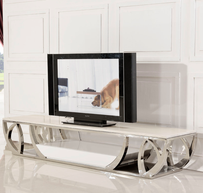 Living Room Furniture Marble Showcase New Designs Dubai TV Stand