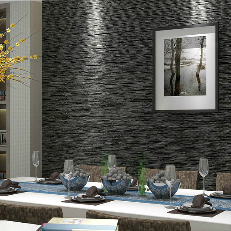 Black Faux Grcloth Wallpaper Product On Alibaba