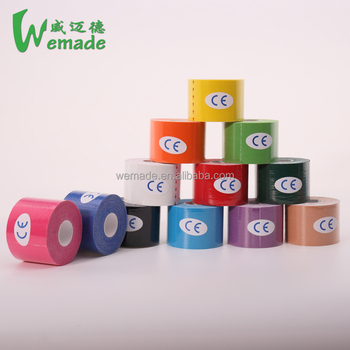 Factory China Waterproof Sports Kinesiology Custom Printed Finger Tape CE/FDA Approved