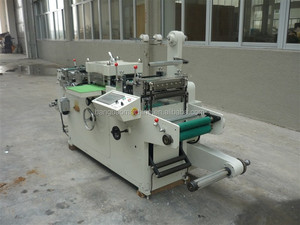 high speed automatic creasing die-cutting machine for self adhesive label