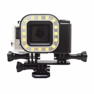 Underwater Led Dive Light For Go Pro Hero 4 3+ Camera