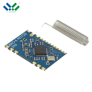 Factory Price 1200Bps-200Kbps Data Rate Spi CC1120 Transmitter Module