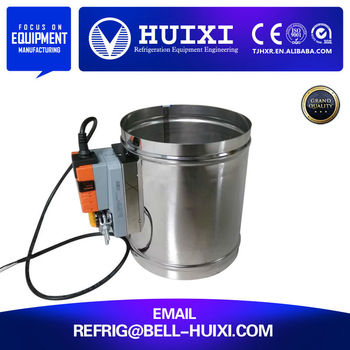Manufacturer Air Conditioning Vent Damper 160mm