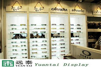 Fashion Glasses Display Cabinet And Showcase Store Equipment