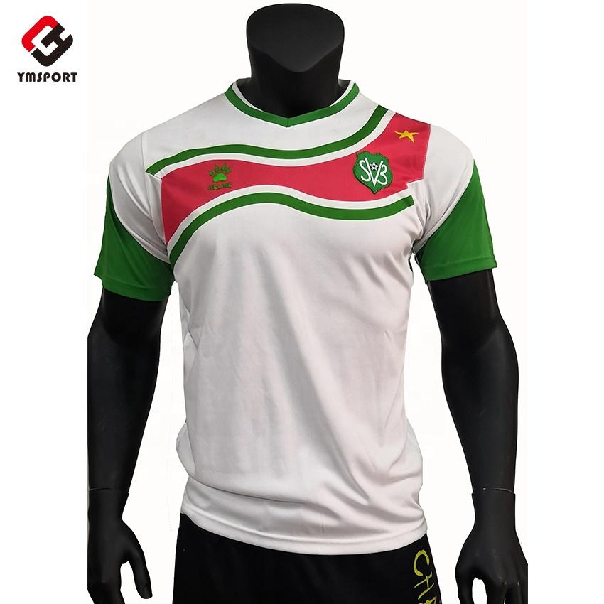 81370950a De malla de ajuste seco camisetas de fútbol baratas ropa de fútbol Jersey  camisa