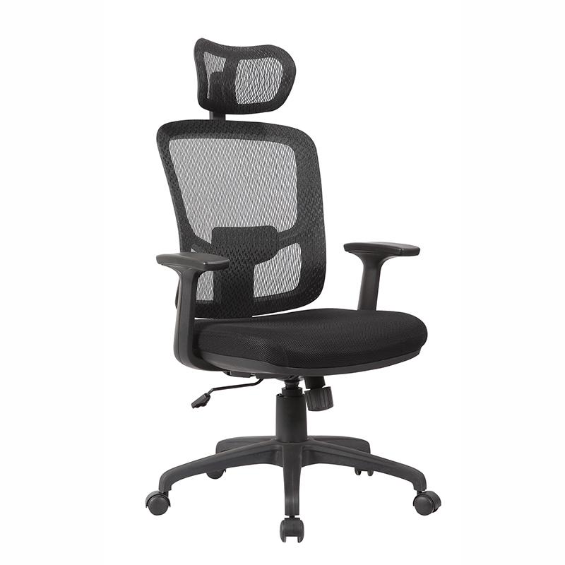 Ergonomische Mesh Hoge Rug Bureaustoel Computer Bureau Taak Executive stoel met Hoofdsteun