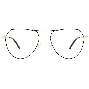 9934245dabf Unique designer irregular polygon metal glasses frames china eyeglasses  manufacturer