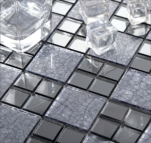 Crystal Glass Mosaic Tiles China New and Clear Glass Mosaic Pool Tiles