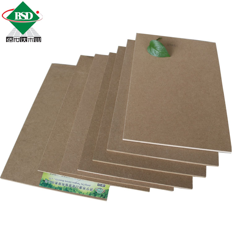 Raw MDF wood prices plain MDF planks for furniture durability