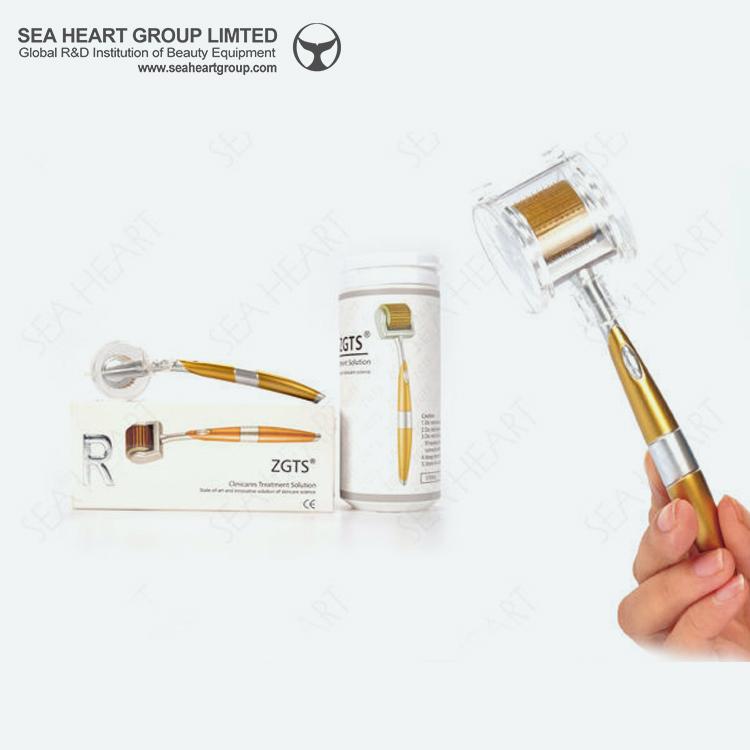 Factory wholesales wholesale SeaHeart titanium 192 microneedle derma roller price фото
