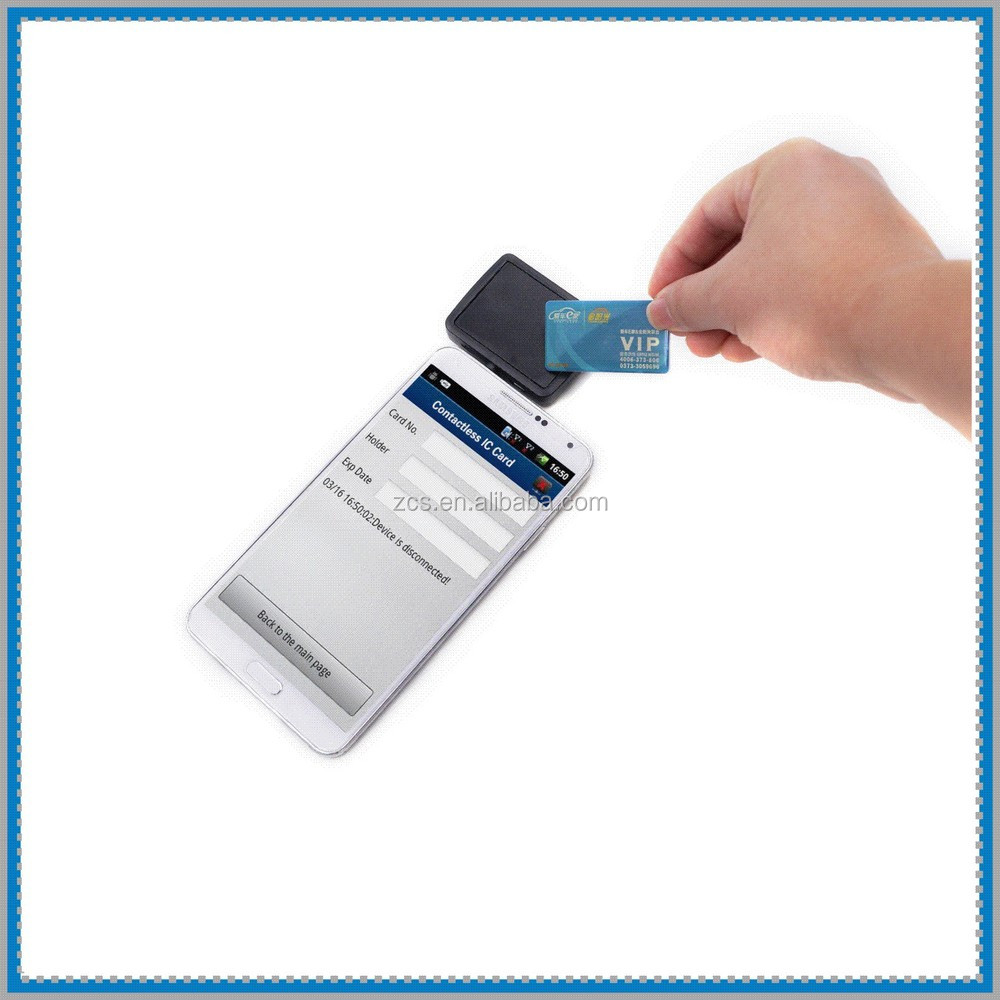 mobile rfid proximity card reader with USB&headphone jack interface