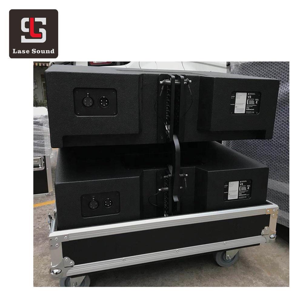 V8 line array system dual 10' 3 way passive big powered array line