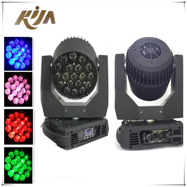 19 X 15W RGBW 4in1 led wash zoom moving head