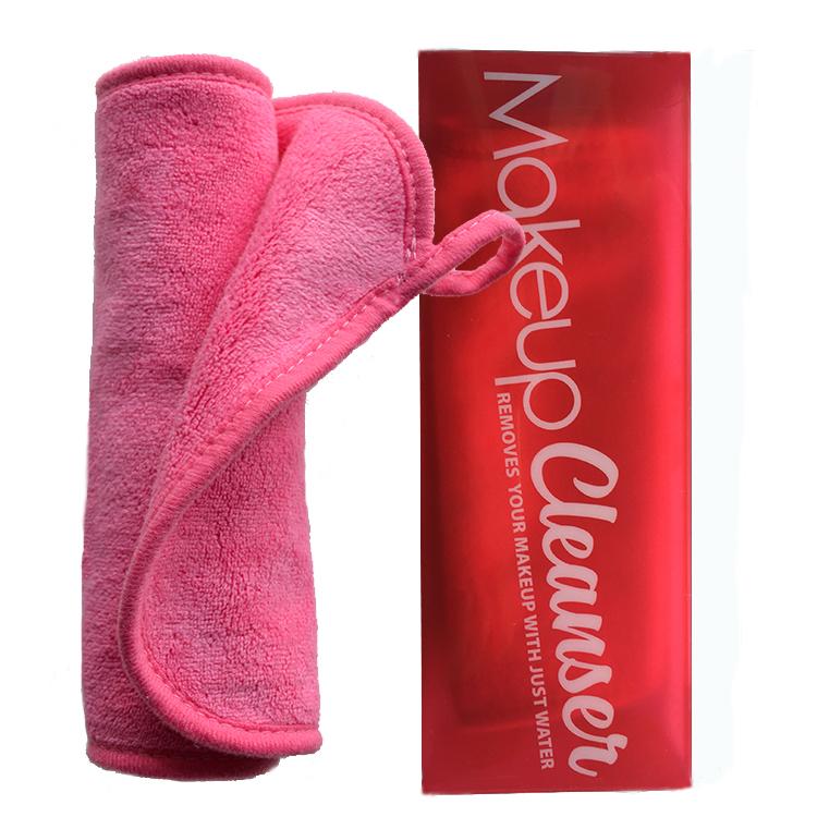 Microfiber makeup remover handdoek doek gum opstijgen ornamenten alleen met water