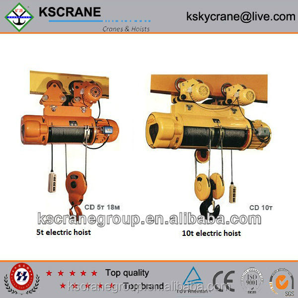 Professoinal engineer designing 3t electric pneumatic air hoist