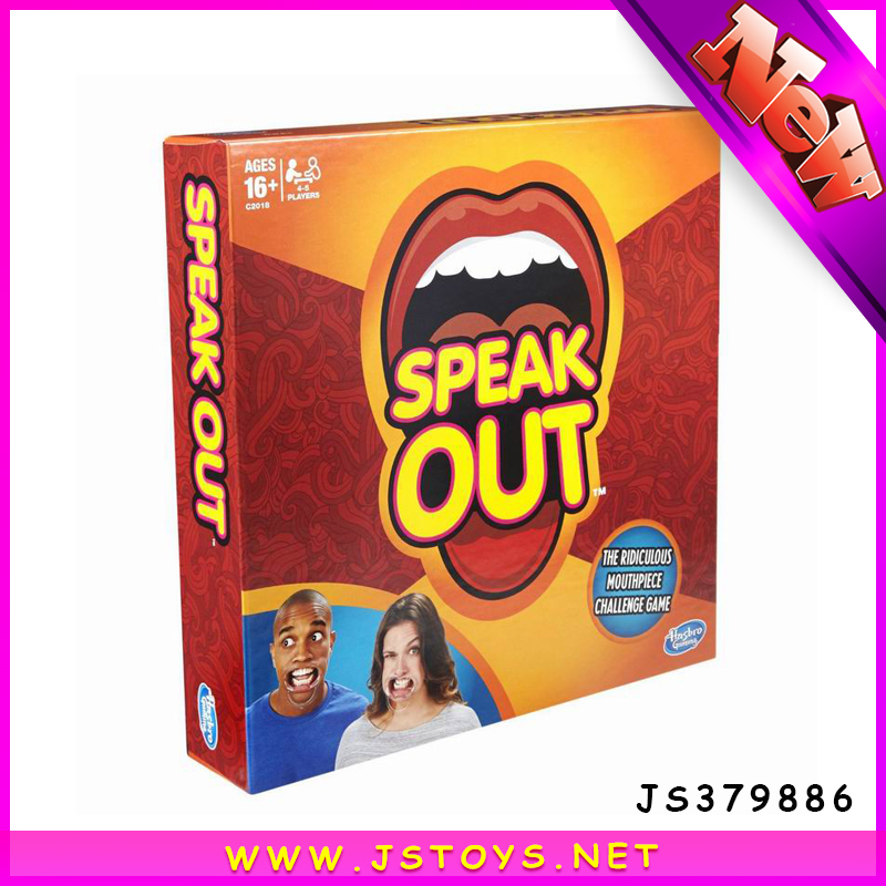 hot selling family christmas gifts indoor board game pieces speak out