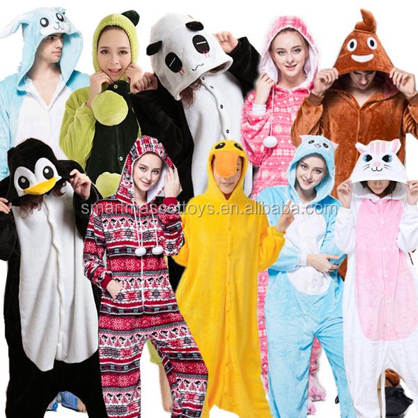 eab427d240 Animal Onesie Pajamas With Drop Seat Wholesale
