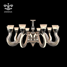 new products glass chandelier for living room parts manufacturers