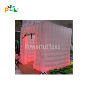 Cheap inflatable led photo booth for sale