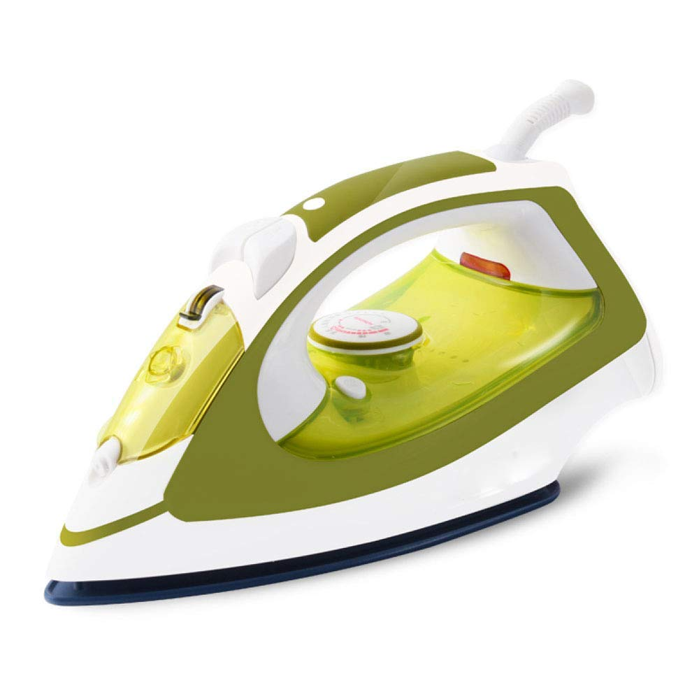 CDREAM Electric Iron Household Steam Iron Hand-Held 1600W High Power Can Be Automatically Cleaned,Green