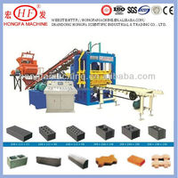 Most advanced fly ash brick machinery fly ash solid brick machine color surface paver machine