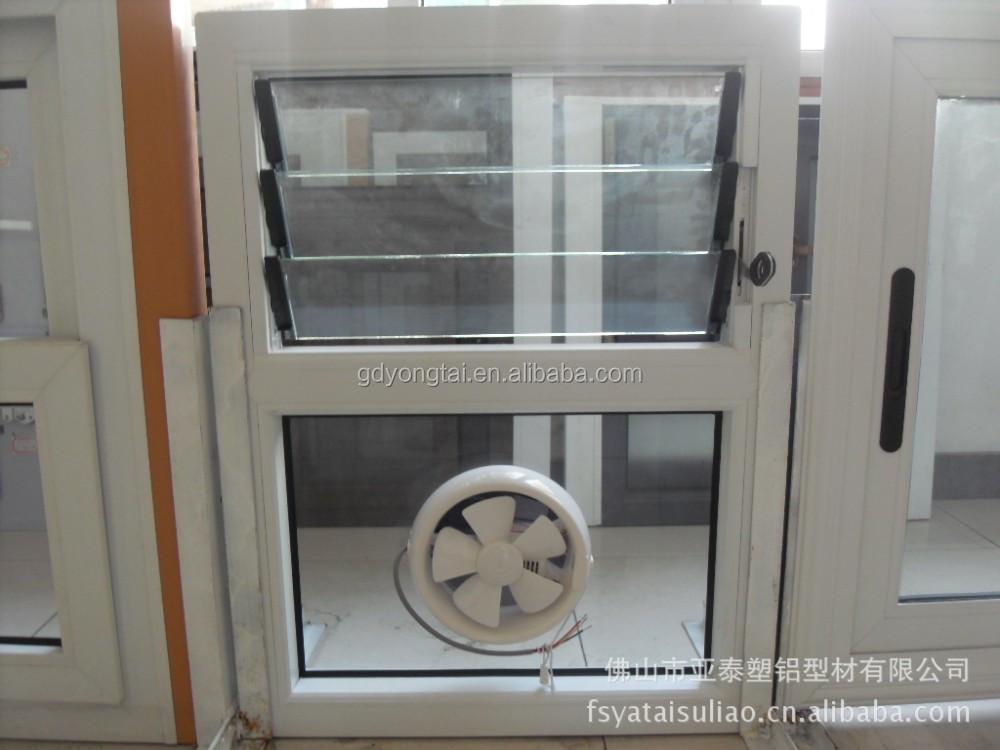 Upvc Ventilator Window With Exhaust Fan Supplieranufacturers At Alibaba
