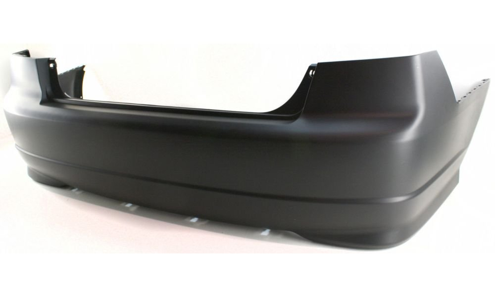 New Evan-Fischer EVA17872026408 Rear BUMPER COVER Primed Direct Fit OE REPLACEMENT for 2004-2005 Honda Civic *Replaces Partslink HO1100217