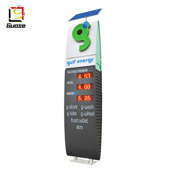 Advertising Boards Led Price Pylon Sign For Used Gas Station Equipment Sale  - Buy Gas Station Led Price Sign,Pylon Sign For Gas Station,Gas Station