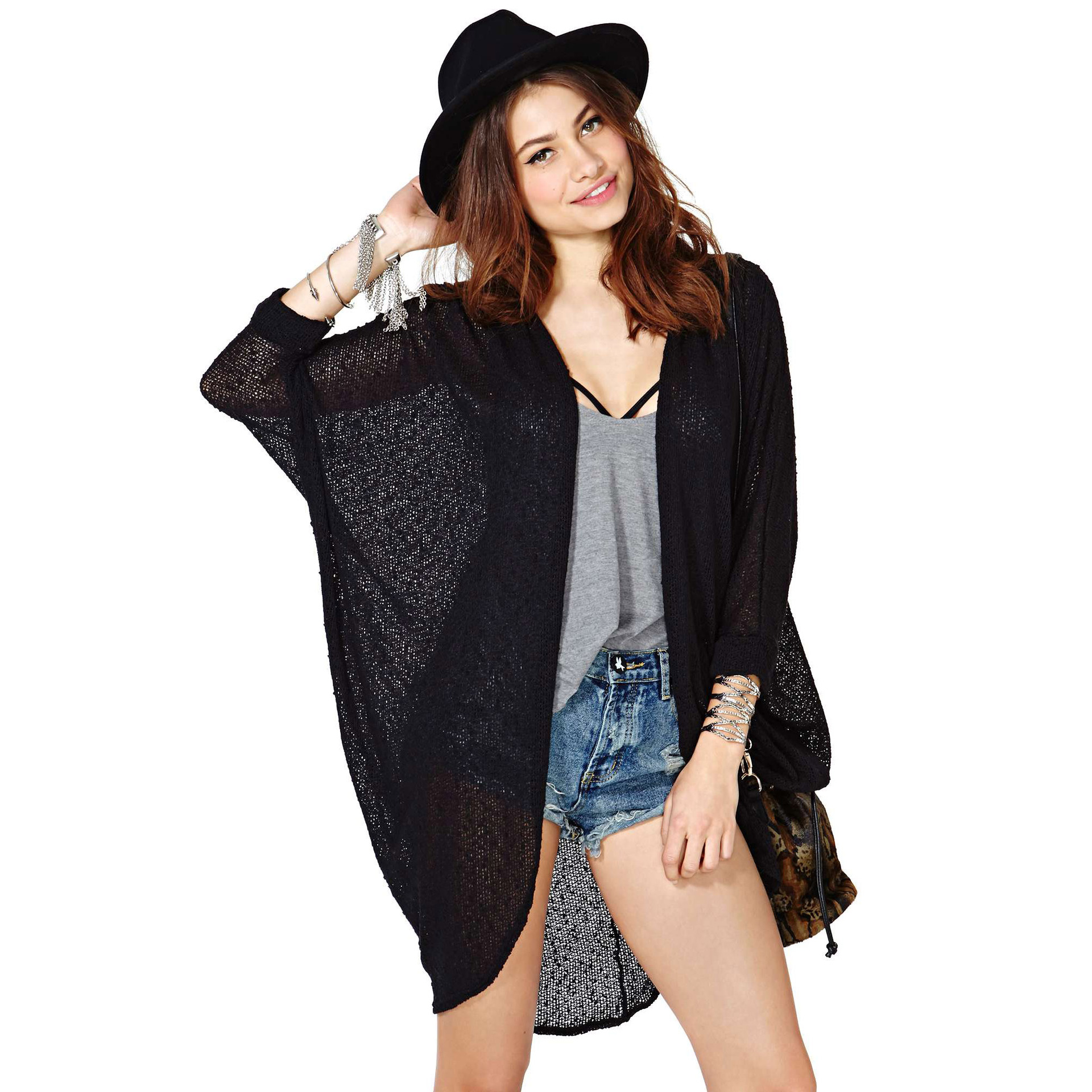 Cheap Knitted Kimono Jacket, find Knitted Kimono Jacket deals on ...