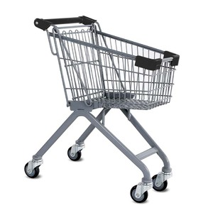Plastic Supermarket Trolley Cart For Children Kids