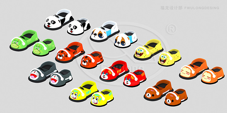 Remote Control Battery Powered Electric kiddie ride Animal Bumper Drift Car
