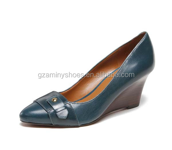 2014 shoes leather Woman all comfortable wedge qg10qySrYw