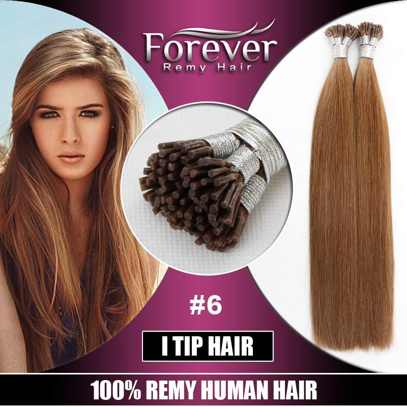 Forever Brand alibaba uk wholesale 100 real remi human Keratin 1.5g per strand i tip hair extension