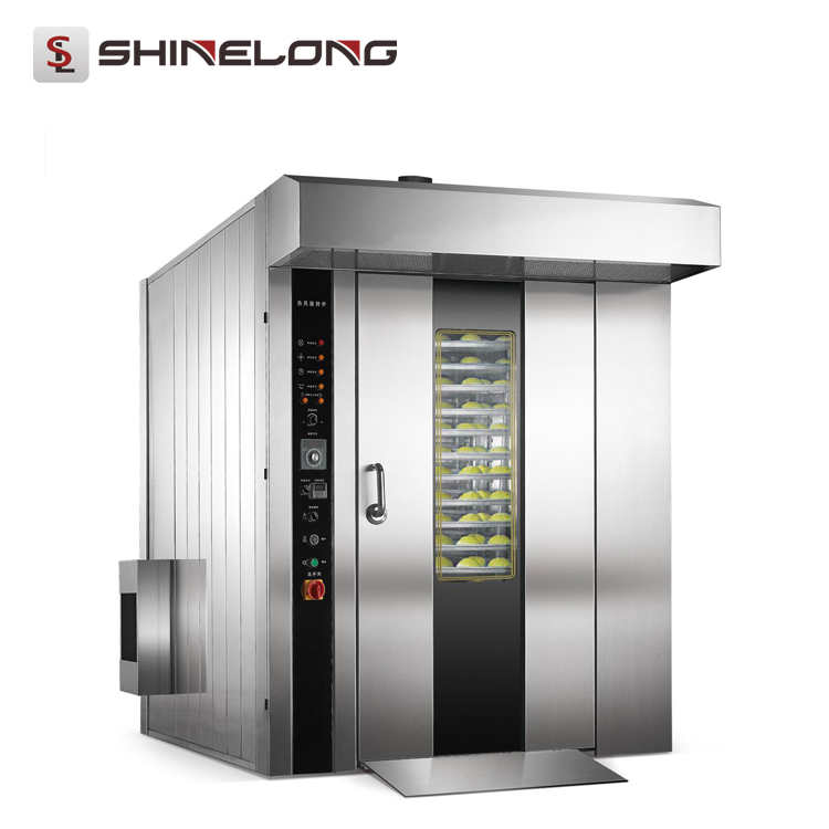 32-Tray Gas/Electric/Diesel Rotary Convection Oven