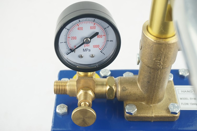 Garment 0-50bar Hydrostatic Pressure Testing Pump compatible with Rothenberger