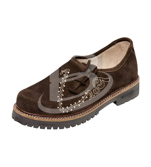 German Bavarian Oktoberfest Trachten  Lederhosen Real Leather Shoes