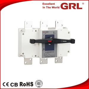 Indoor Outdoor Electric 3P 4P AC DC Load Isolating switch