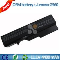 Original rechargeable 11.1v 4400mah li-ion battery laptop replacement parts for Lenovo IdeaPad G560 Z560 G460