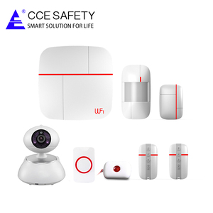 Phone APP control Wi-Fi and GSM(3G) Smart Home Security System