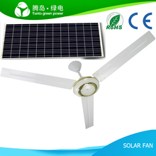 China Best Ceiling Installation Remote Ceiling Fan, 56 Inch DC 12V Solar Ceiling Fan