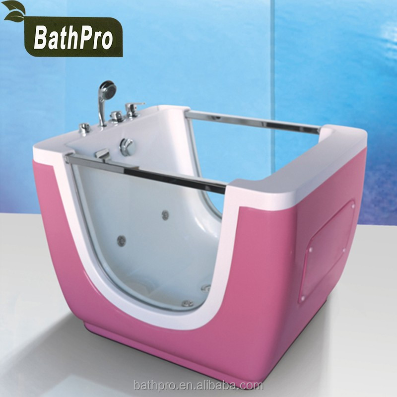 Baby Spa Equipment Baby Bathtub Transparent Acrylic Massage Bathtub ...