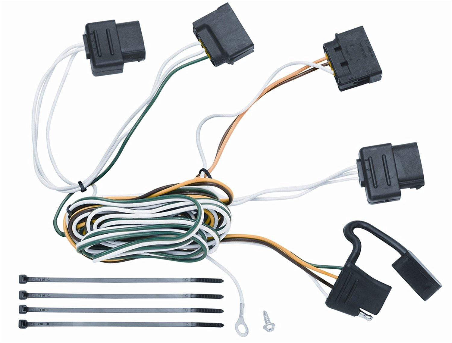 Get Quotations · Vehicle To Trailer Wiring Connector For 08-11 Ford Focus  Sedan & Coupe Plug Play