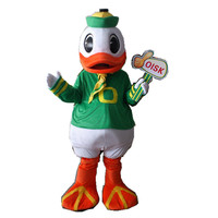 HI CE oregon duck mascot costume donald duck mascot costume for sales